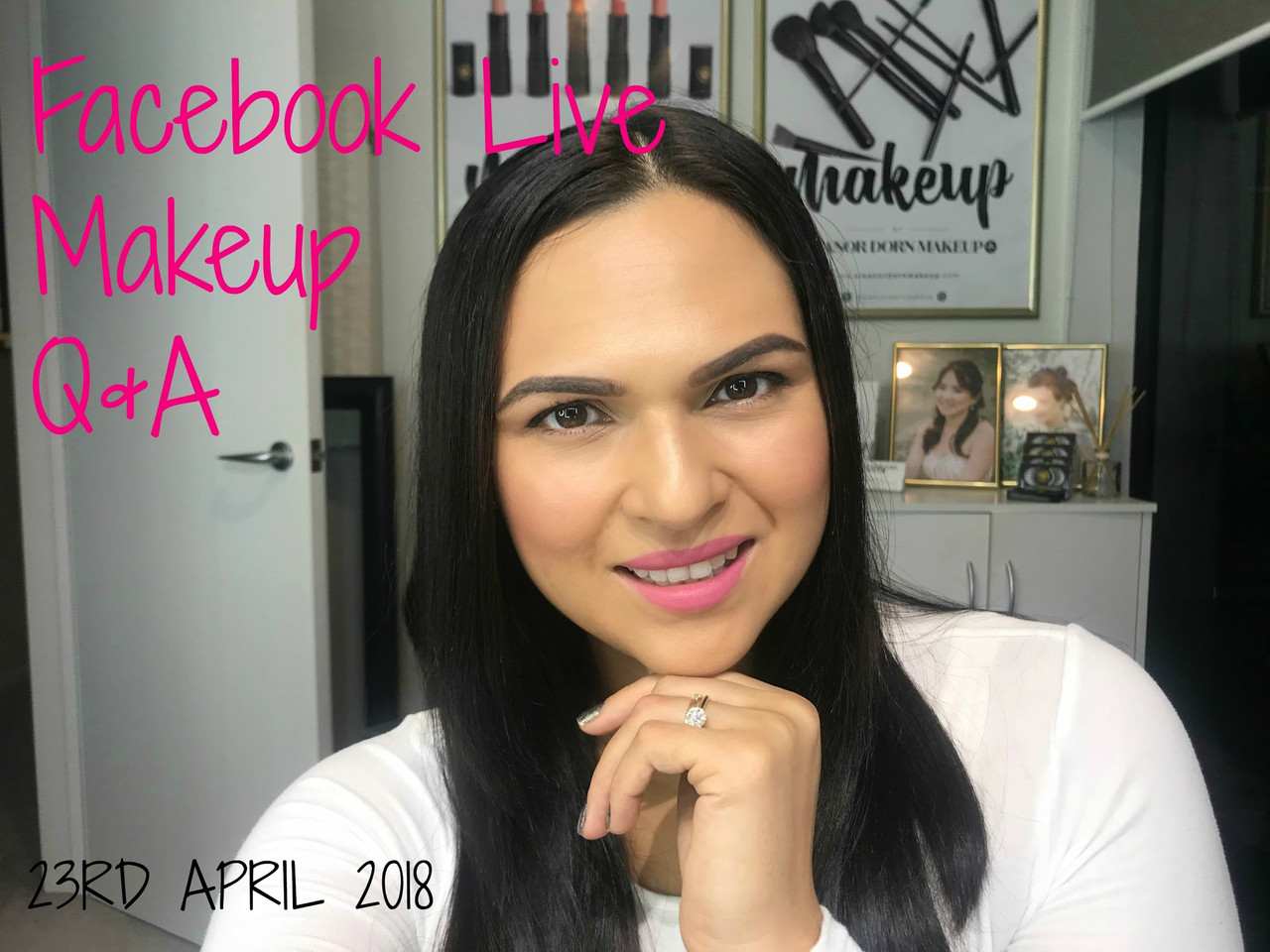 Facebook live Makeup Q & A : April 2018