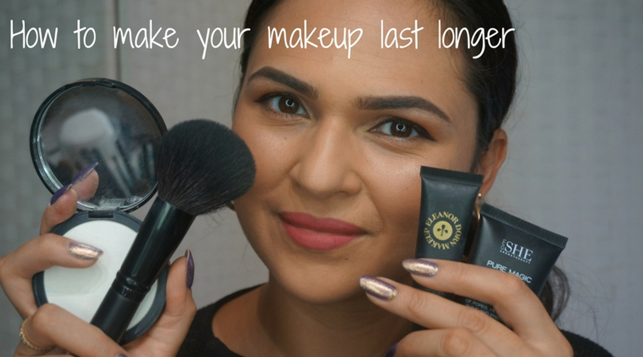 HOW TO: Make your makeup last longer