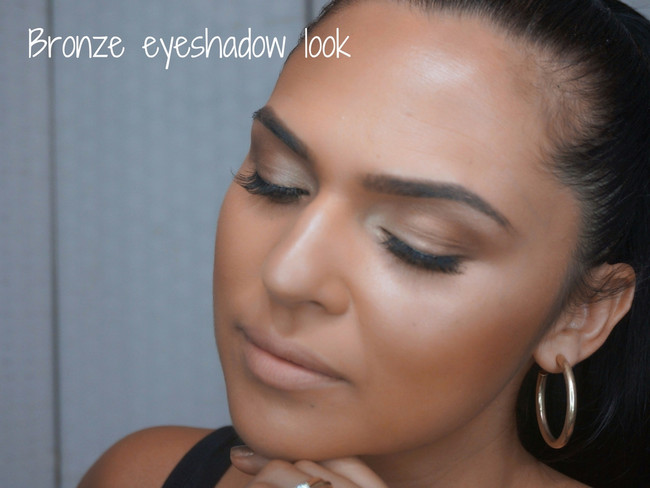 HOW TO: Bronze eyeshadow look