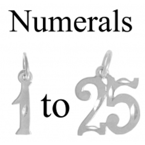 Custom Made Date in Sterling Silver for Birthdays Anniversarys /& Recovery #406