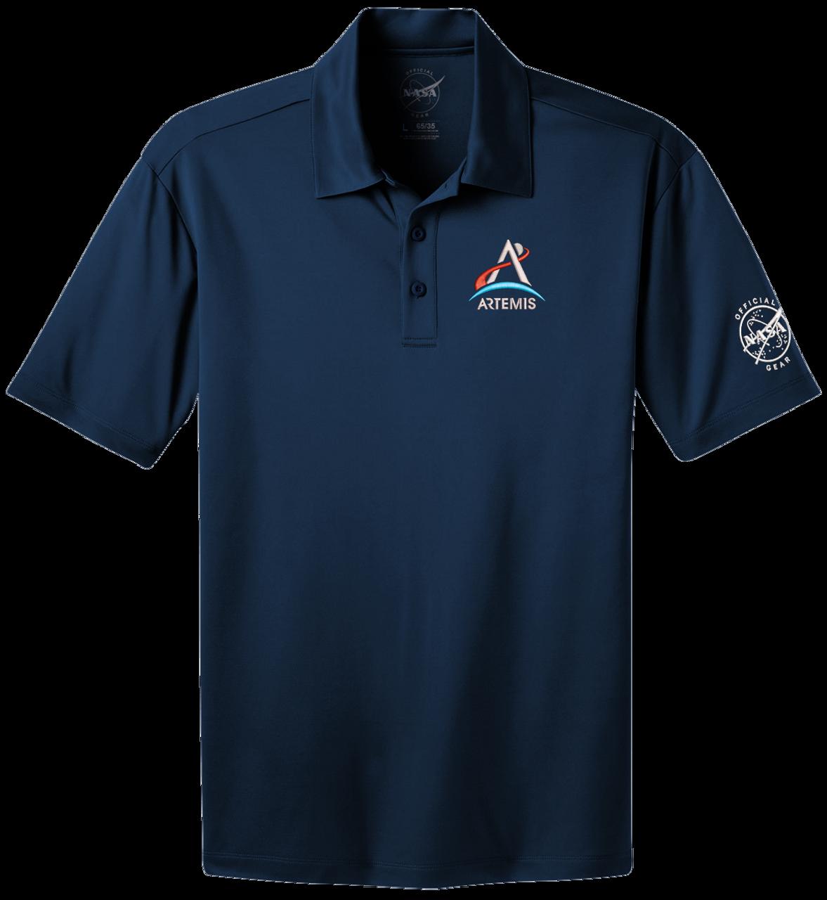 NASA Artemis Logo - Men's Polo Shirt *CLEARANCE*