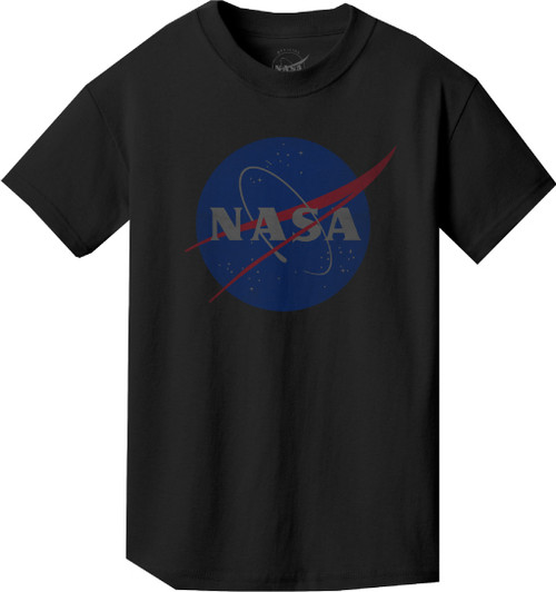 Faded NASA Meatball Logo - Youth T-Shirt