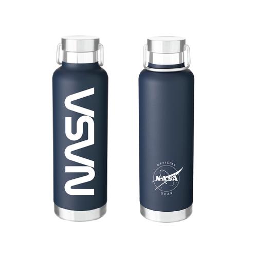 NASA Worm Logo - 25 oz Journey Bottle - Navy
