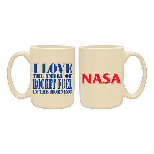 NASA - I Love The Smell Of Rocket Fuel In The Morning 15 oz Mug