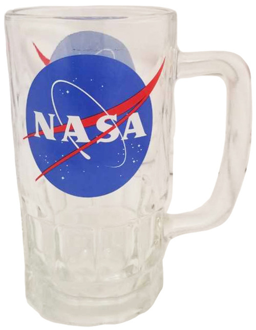 NASA Meatball Logo - 16 oz Glass Mug