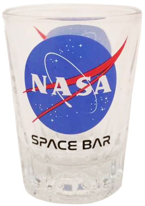 NASA Meatball Logo - Space Bar Glass Shot Glass