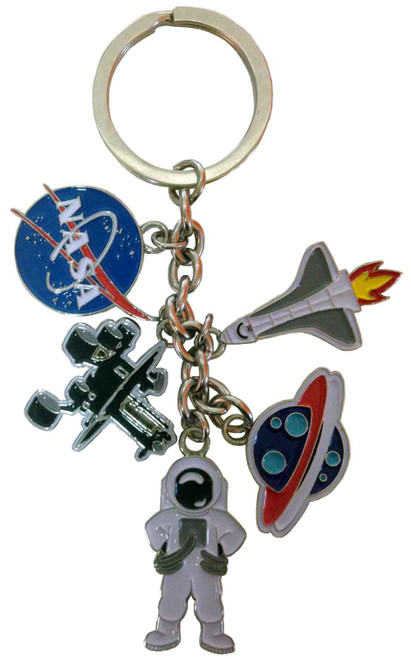 NASA Meatball Logo - Dangle Charms Keychain