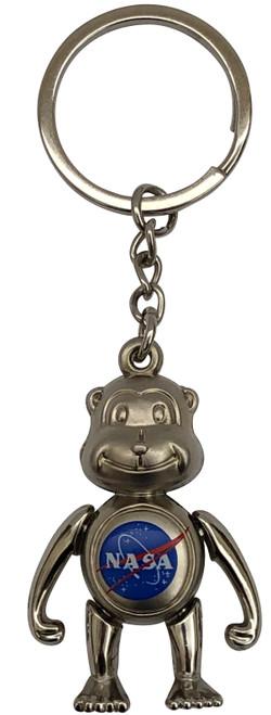 NASA Monkey Keychain