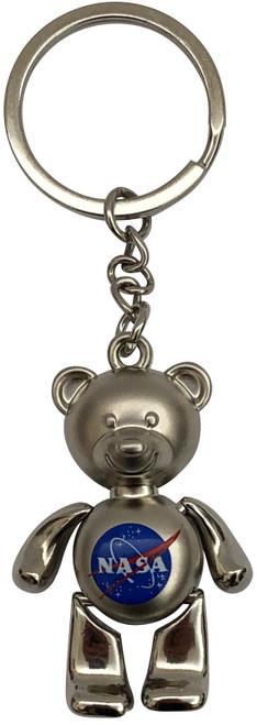 NASA Bear Keychain