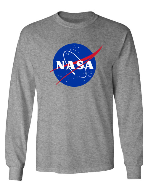 NASA Meatball Logo - Adult Long Sleeve T-Shirt