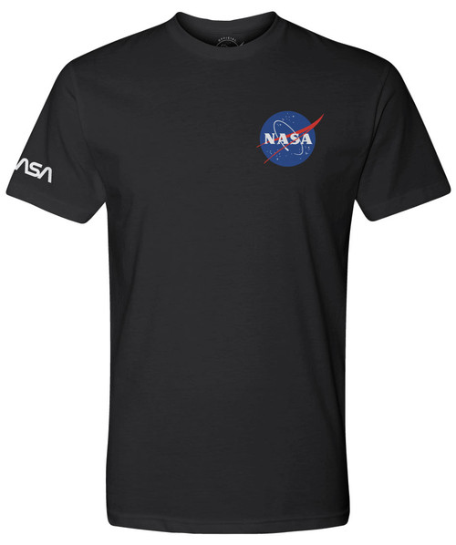 NASA Meatball Logo - Dual Logo Adult T-Shirt