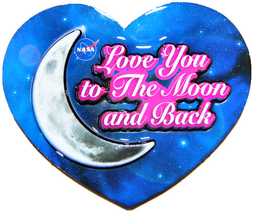 Love You To The Moon Magnet