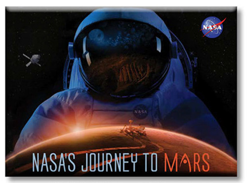 Journey To Mars Magnets Large Astronaut Magnet