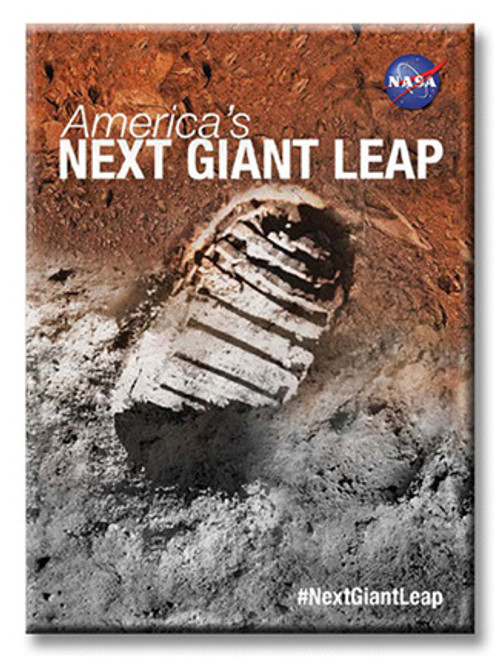 Journey To Mars Magnets Next Giant Leap Magnet