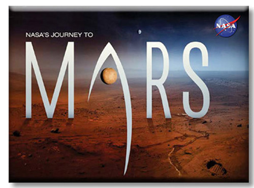 Journey To Mars Magnets Martian Landscape Magnet