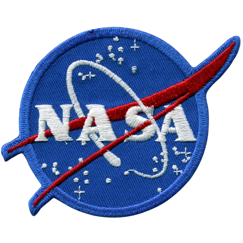 NASA Meatball Logo 4 Inch Patch
