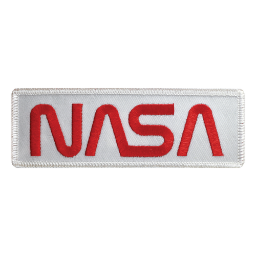 NASA Worm Logo Patch