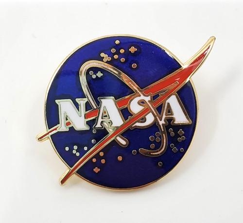 NASA Meatball Logo Traditional Pin