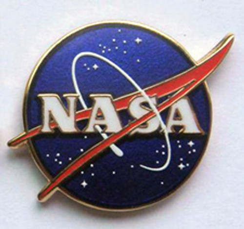 NASA Meatball Logo Magnetic Pin