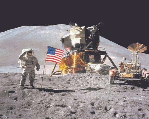Apollo 15 Rover Poster
