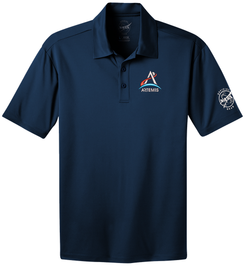 NASA Artemis Logo - Men's Polo Shirt *CLEARANCE*