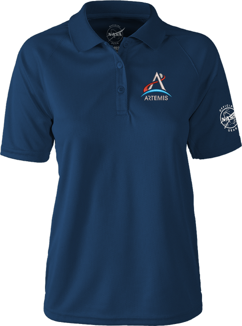 NASA Artemis Logo - Women's Polo Shirt