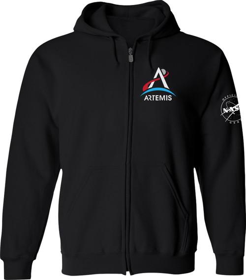 NASA Artemis Logo - Zipper Hoodie