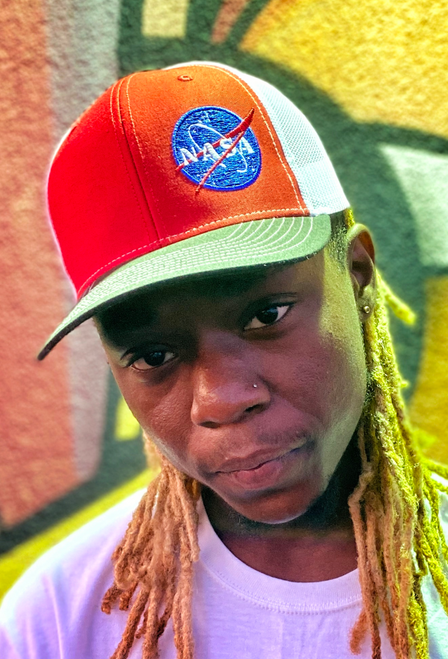 NASA Meatball Logo - Trucker Hat