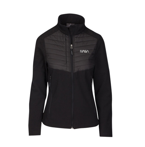 NASA Worm Logo - Refelctive Design - Aurora Women's Jacket
