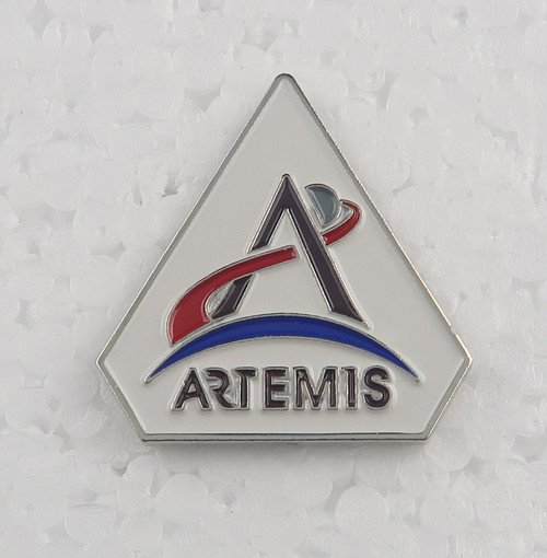 NASA Artemis Logo - Butterfly Backed Pin