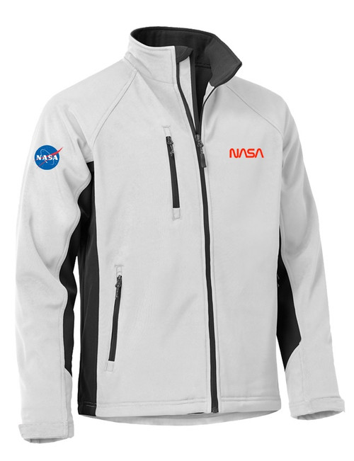 NASA Worm Logo - Tiburon Men's Jacket