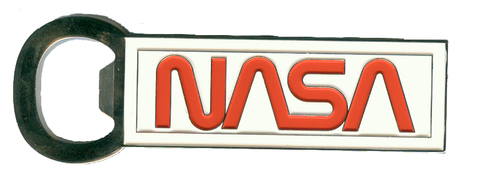 NASA Worm Logo - Magnetic Bottle Opener