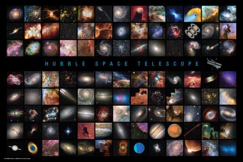 Hubble Collage H-2258