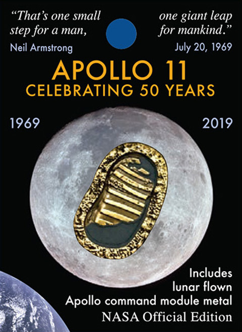 Apollo 50th - First Footprints Pin
