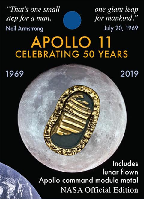 Apollo 50th - First Footprints Pin