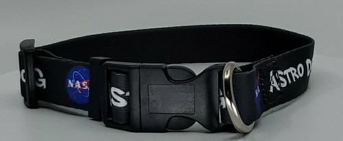 NASA Meatball Logo - Adjustable Dog Collar