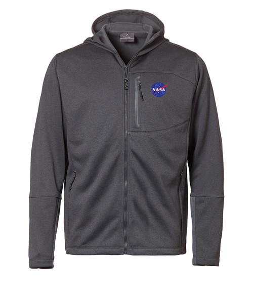 NASA Meatball Logo - Men's Mesa Hooded Jacket