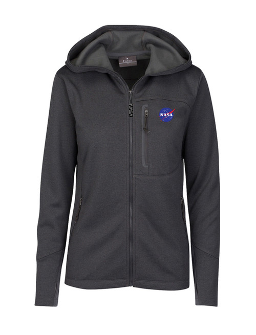 NASA Meatball Logo - Women's Mesa Hooded Jacket