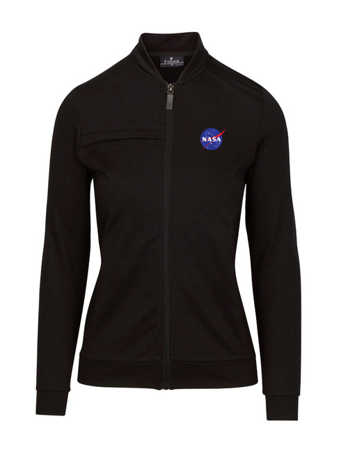 NASA Meatball Logo - Women's Morpheus Knit Fleece Jacket