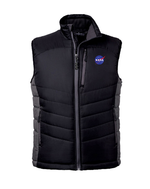 NASA Meatball Logo - Men's Cloud Puffer Vest