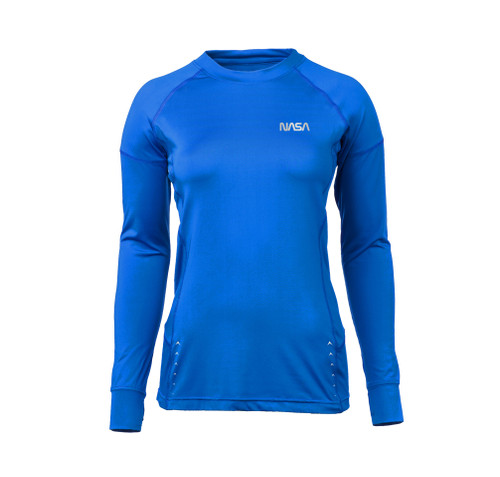NASA Worm Logo - Women's Savanna Wicking Long Sleeve T-Shirt