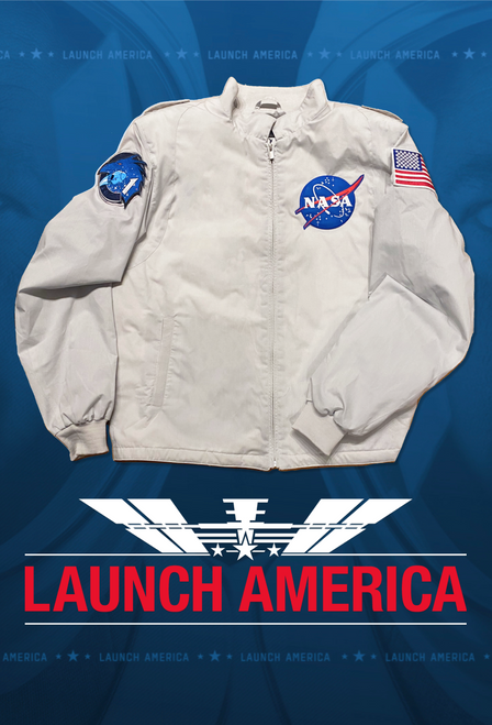 NASA Crew 1 Launch America On-Air Jacket - Mens