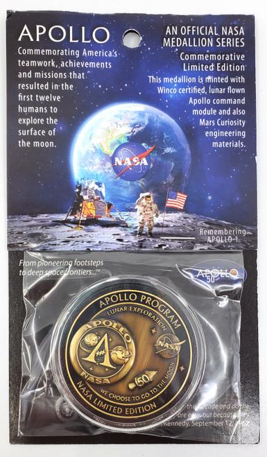Apollo Program Medallion