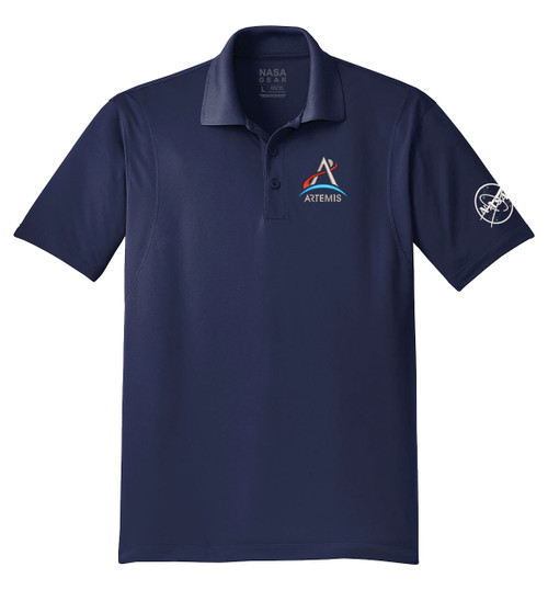 NASA Artemis Logo - Men's Polo Shirt