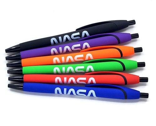 NASA Worm Logo - MIA Sleek Write Pen