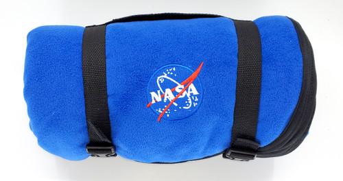 NASA Logo Stadium Blanket
