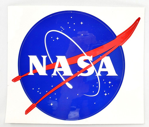 NASA Meaball 4.5 Inch Sticker