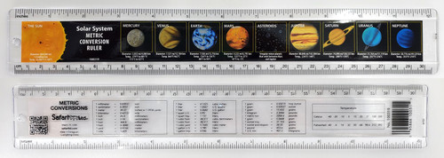 Solar System Metric Conversion Ruler