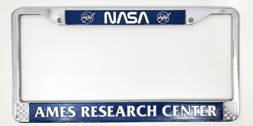 NASA ARC License Plate Frame