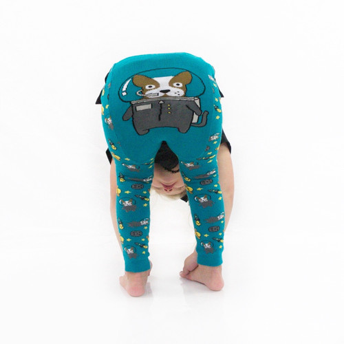Astro Dog Leggings by Doodle Pants
